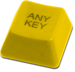 Goldener Any Key